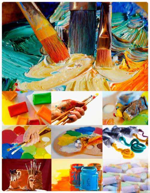 Art color - набор растровых клипартов