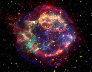Estrela explosão