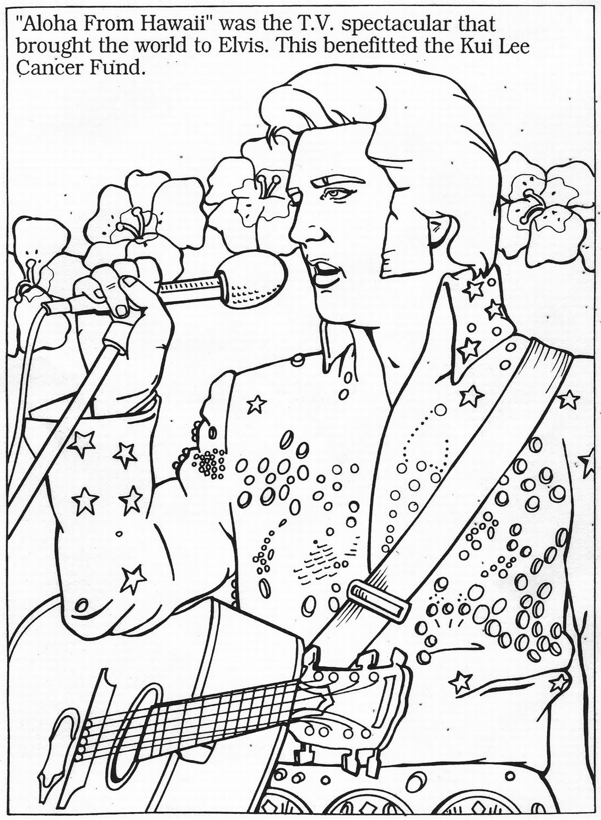 Dartman's World Of Wonder: ELVIS Month 2010: Color The King