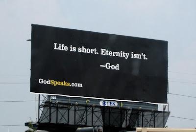 bunch god billboards