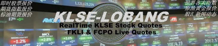 KLSE-LOBANG- RealTime KLSE Stock Quotes-FKLI & FCPO Live Quotes!
