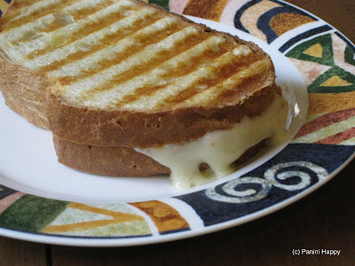 Grilled Raclette Cheese & Honey Panini