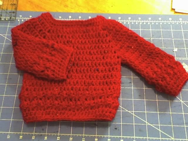 Debs Crafts: Baby Bumpy Sweater