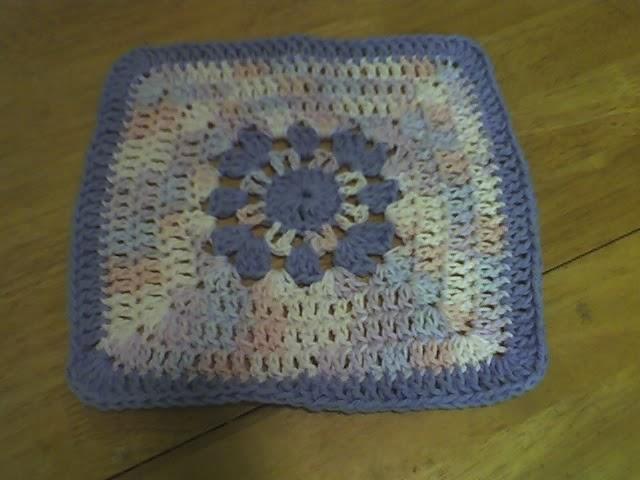 Free Crochet Patterns Flower Dishcloths : Debs Crafts: Debs Flower Dishcloth Free Crochet Pattern