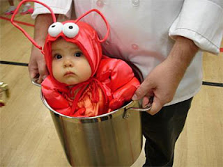 Food products are ALWAYS a good halloween costume. And I warmly appreciate this kidu0027s commitment to acting terrified of being boiled. Bravo.  sc 1 st  Cirque Du SolErin & Cirque Du SolErin: Like Anne Geddes but better...