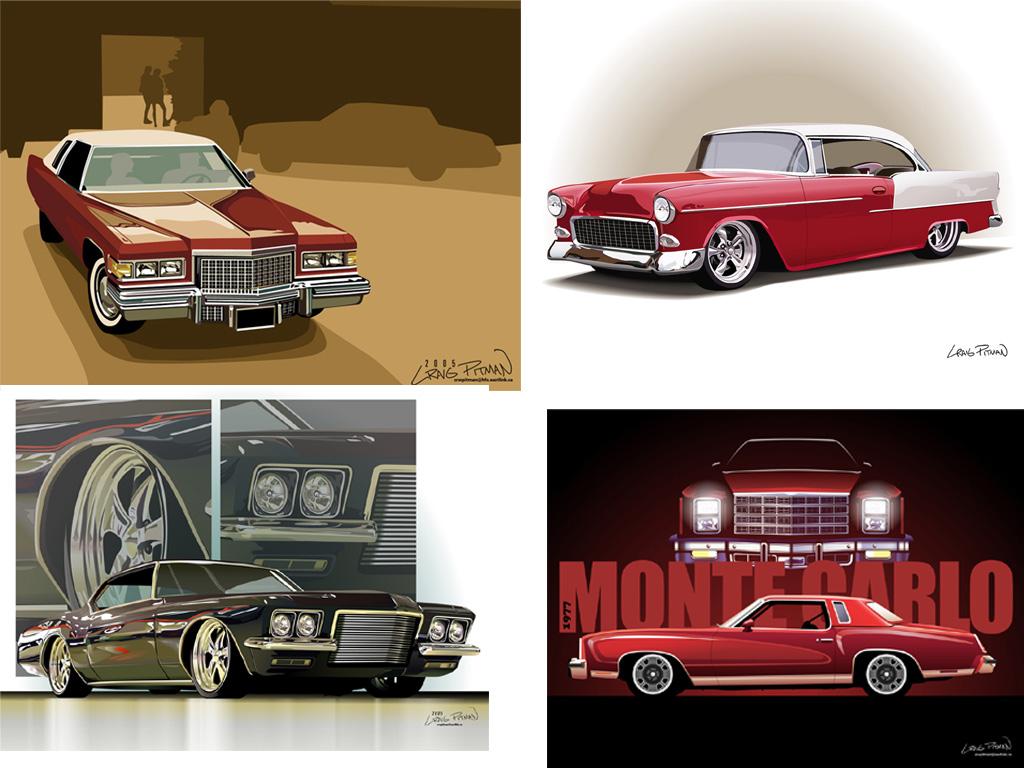 Car Vector Illustration | All Wallpaperz Free