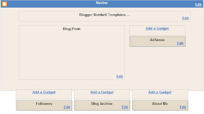 create 3 column in footer or under blog
