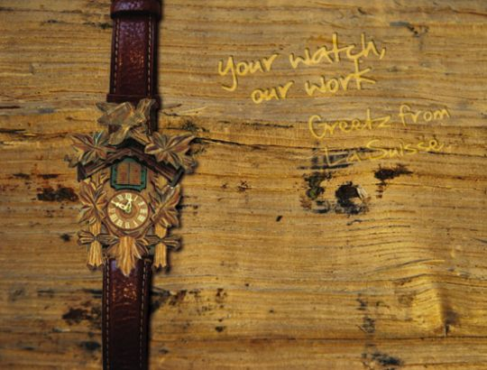 Thomas Cruyl's Cuckoo Clock Is A Wrist Watch