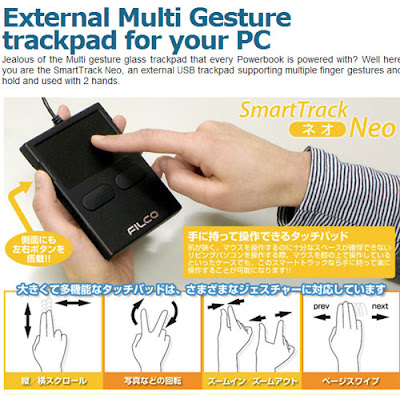 SmartTrack Neo: External Multi-touch Trackpad for PCs