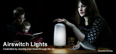 Airswitch Light Functions With A Swoosh Of Your Hands