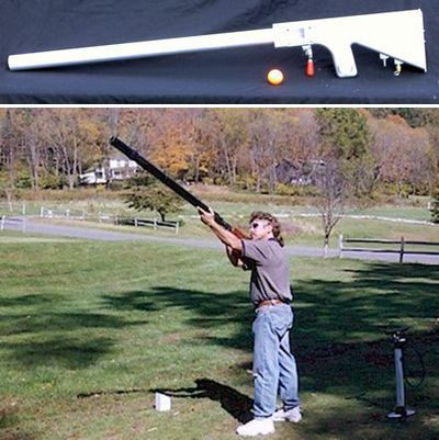 Golf Ball Launcher Replaces Swinging With Shooting