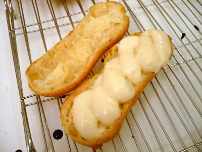 Filled Eclairs
