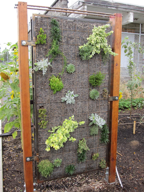 Vertical Wall Garden Fence
