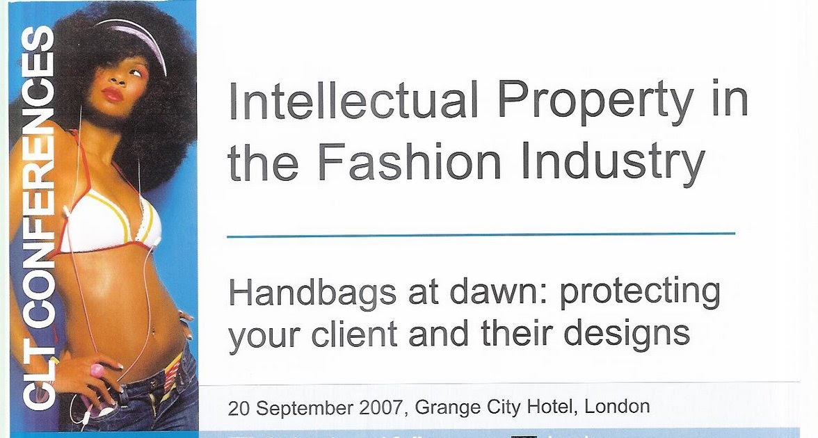 Intellectual Property Fashion Industry
