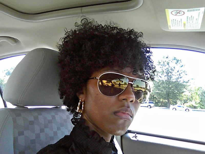 I Lied Smooth N Shine Polishing Curl Activator Gel Throughout My Hair Thought Was Looking Kind Of Fly So Took A Picture
