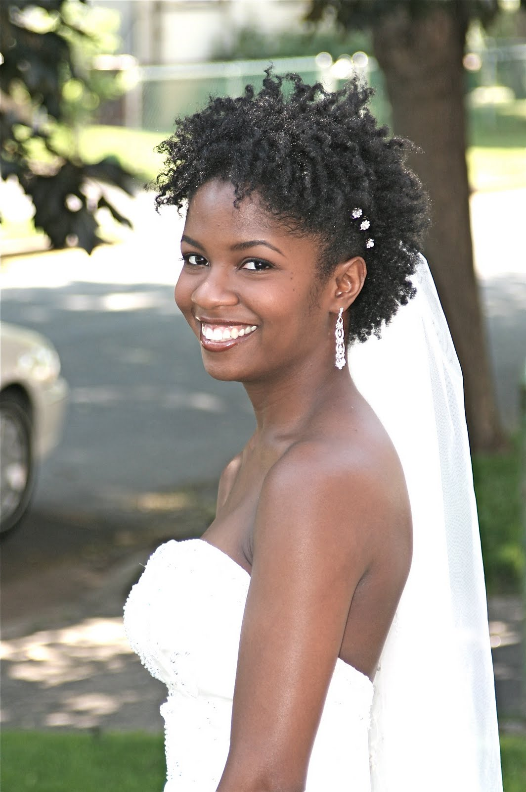 Chavonne- A Natural Bride | CurlyNikki | Natural Hair Care