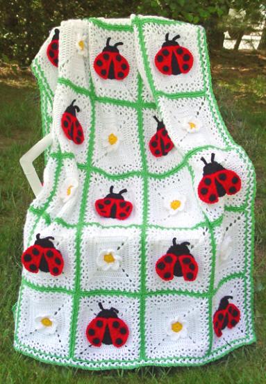 cobertor de joaninha