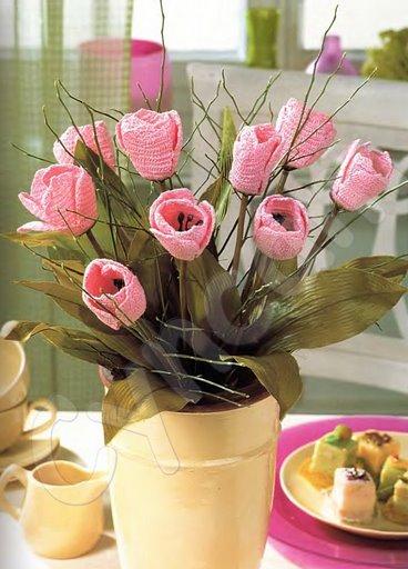 flor de tulipa,de um blog russo.