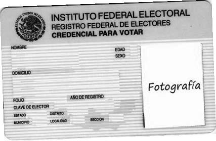 Crear credencial de elector falsa online dating 4