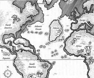 Ubicación de la Atlántida