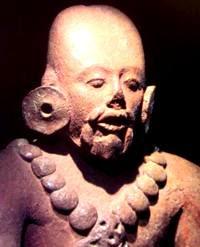 Estatua maya - china