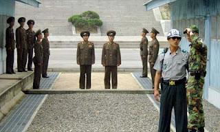 Frontera Corea del Norte y Corea del Sur
