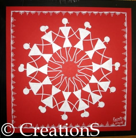 CreationS - The Essene of Arts: Warli Art - The Tribal Art ...