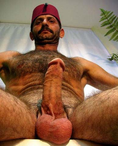 Cannot tell Turkish hairy dad big cock nude
