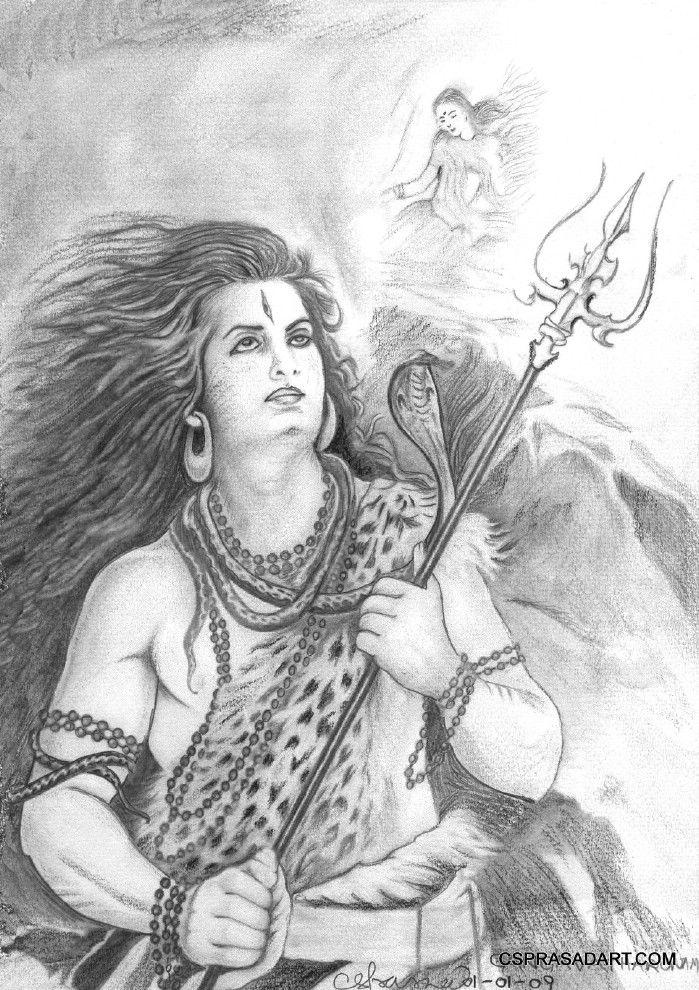 Prakasharashmi: Pencil Drawings. Very Nice.