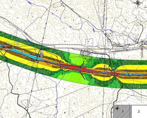 Mapa Acustico Mapa de Ruido Carretera
