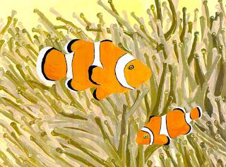Journey into the deep blue sea clown fish adaptations for Clown fish adaptations