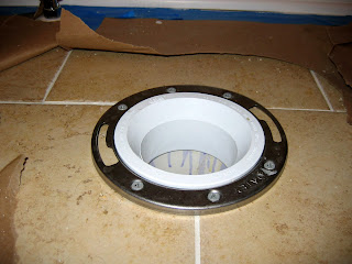 Butt Joints and Pocket Holes: Toilet Flange