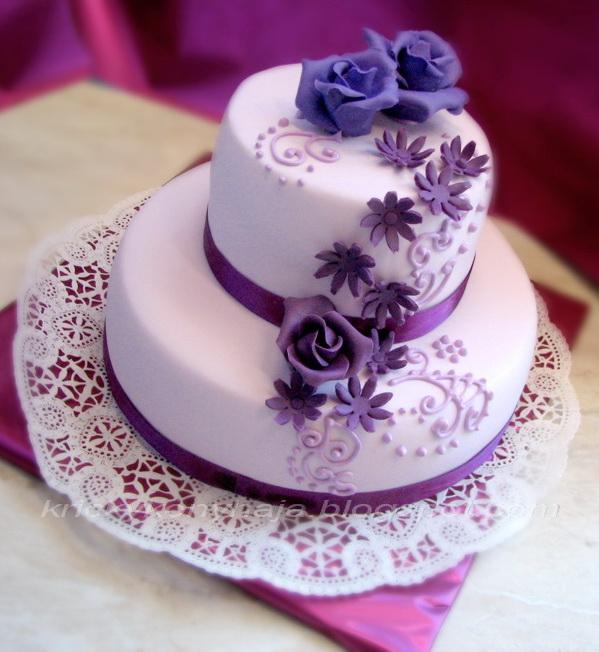 emeletes születésnapi torták Kricky konyhája: Lila Emeletes emeletes születésnapi torták