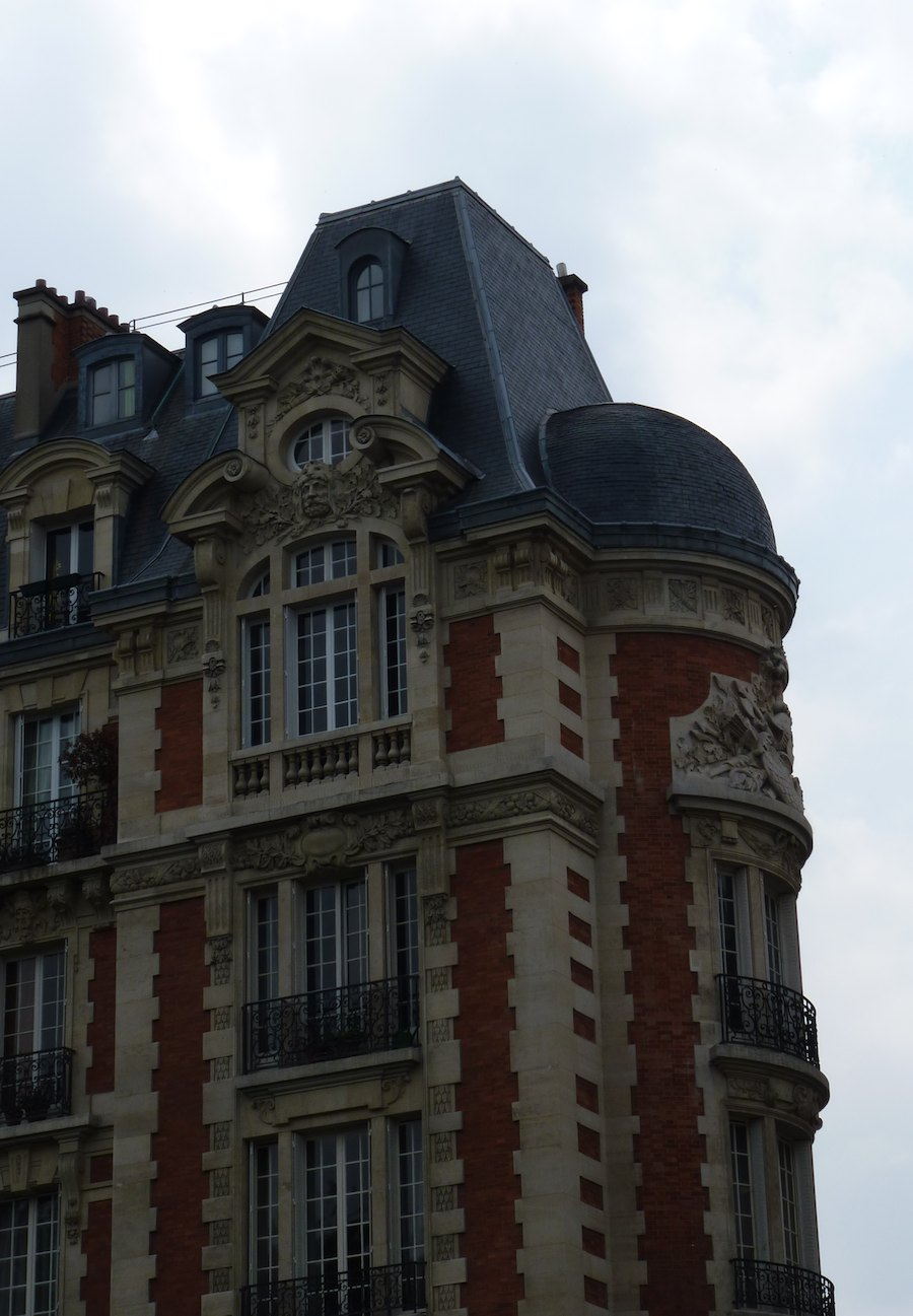 Dispatch from Metz: Roof Lines in Paris