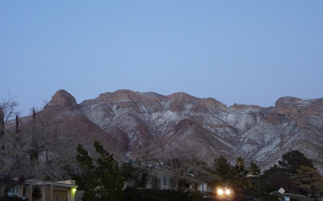 Image result for El Paso in winter