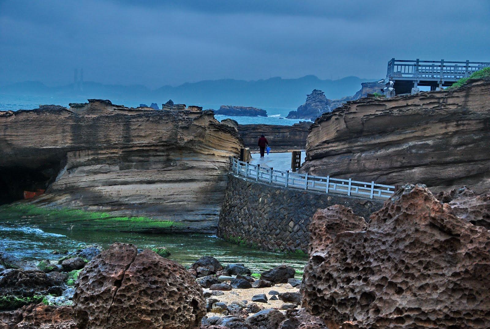 風的自由: 是海,是風,是雨,是陽光(臺北-野柳地質公園)
