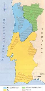 mapa climático de portugal GEOGRAFIAS: CLIMA DE PORTUGAL mapa climático de portugal