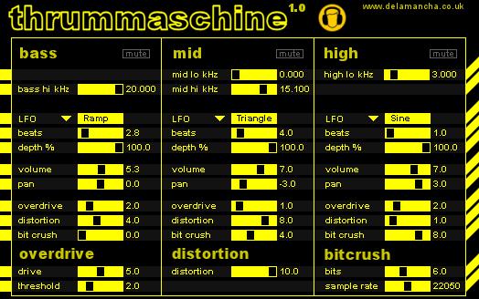industrial music blog thrummaschine distortion vst. Black Bedroom Furniture Sets. Home Design Ideas