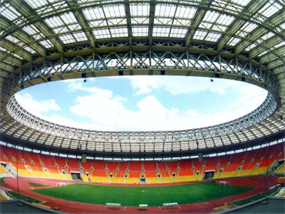по мне Лужники - очень красивый стадион с...
