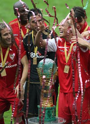 Севилья выиграла кубок РЖД 2008