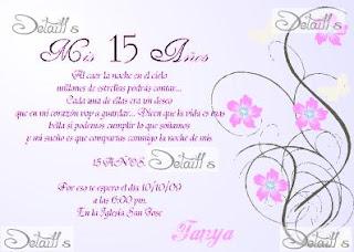 Tarjetas De Cumpleaños Quince