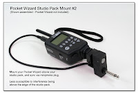 CP1086: PW Studio Pack Mount #2 with Custom Sync Cord