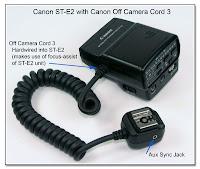 OC1003: Canon ST-E2 with Canon OCC-3 (OC-E3)