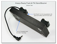 DF1035: Always Ready Flash & PW Stand / Bracket - Bottom View