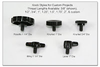 PJ1028: Knob Styles for Custom Projects