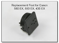 PJ1038 (AS1027): Replacement Foot for Canon 580 EX, 550 EX, and 430 EX Flash Units