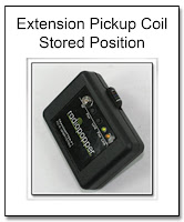 Extension Pickup Coil Stored Position fro RadioPopper Transmitter