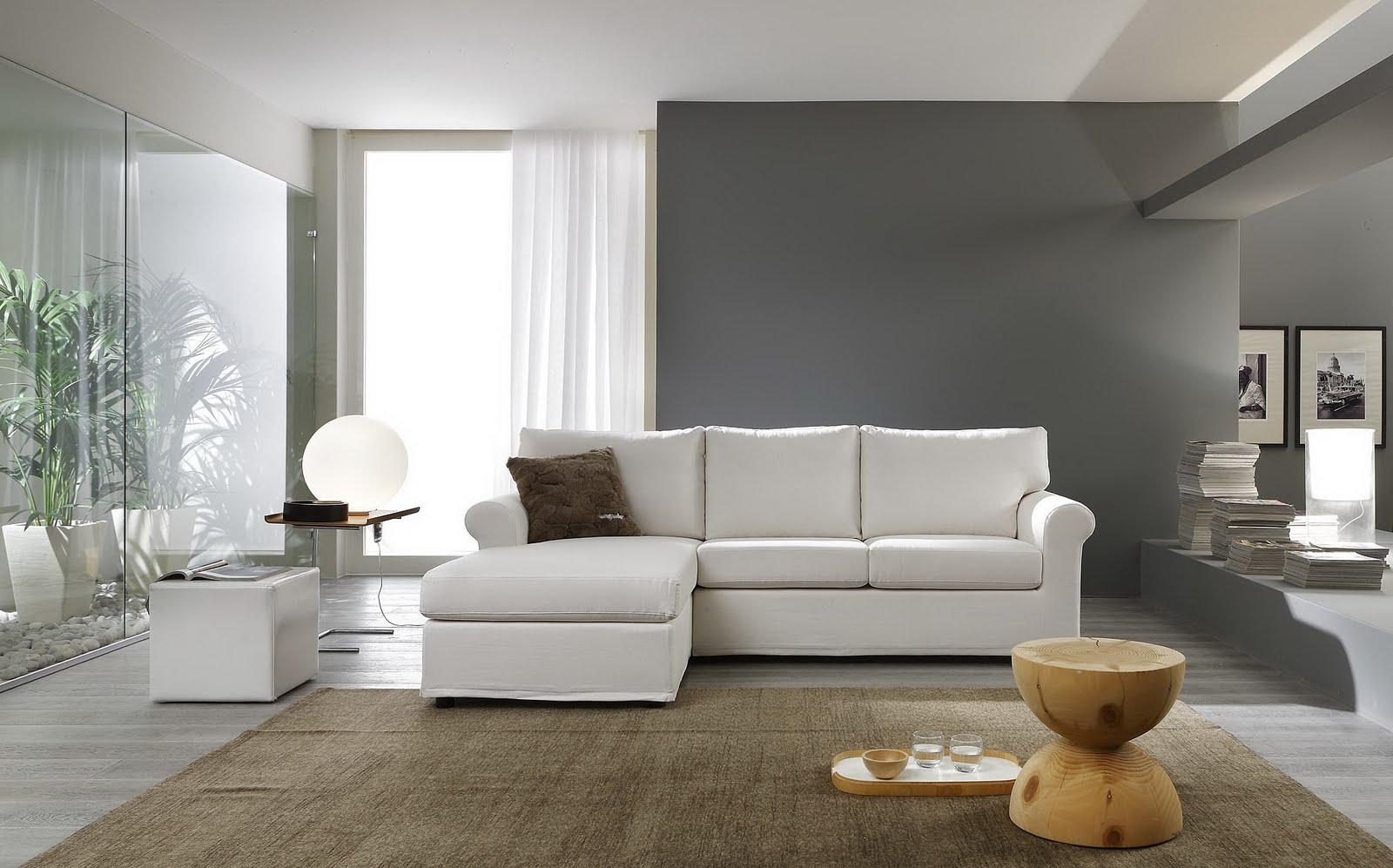 Divani blog tino mariani collezione di divani e for Divani bianchi moderni