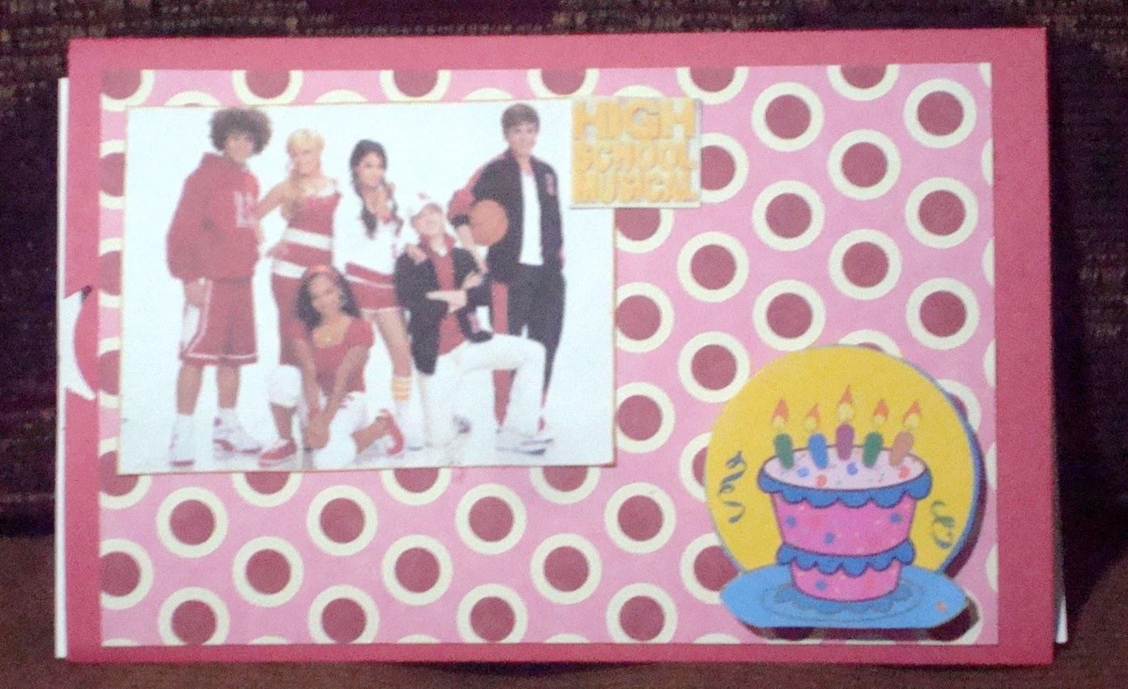 Mi Versión Del Arte Slider Card High School Musical