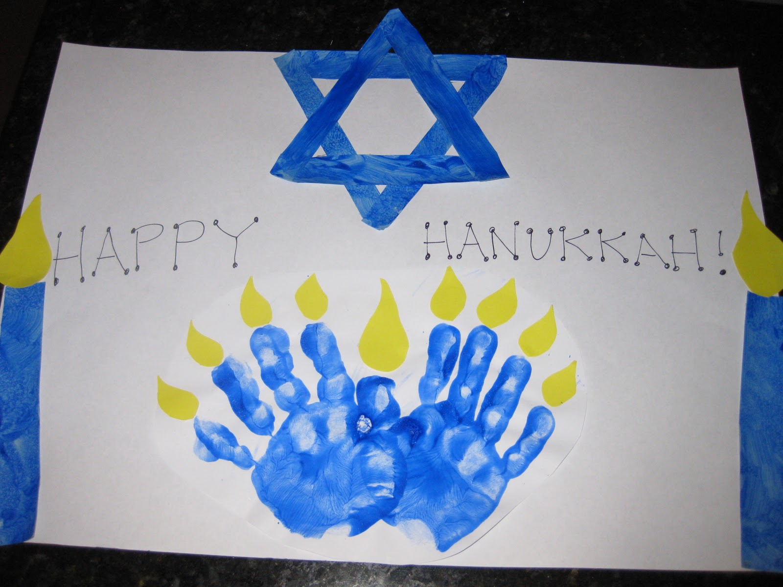 Easy Hanukkah Crafts